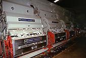 Rolandia, Parana State, Brazil. A cotton (Gossypium sp) processing machine in operation; Maquinas Piratininga, maker.