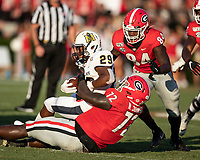 ATHENS, GA - SEPTEMBER 7:  during a game between Murray State Racers and University of Georgia Bulldogs at Sanford Stadium on September 7, 2019 in Athens, Georgia.