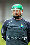 before the National hurling league between Kerry v Down at Austin Stack Park, Tralee on Sunday.