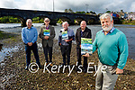 """Members of the Killorglin Archive Society launching their book """"Killorglin's River of Memories"""" in Killorglin on Saturday. Front right: Johnny O'Connor (Chairman). Back l to r: Mike Kenny (PRO), Stephen Thompson (Treasurer, Sec and Author), Tom Doyle (Co-author) and Terence Houlihan."""