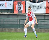 RSC Anderlecht Dames - Ajax Amsterdam : Tessel Middag.foto DAVID CATRY / Nikonpro.be