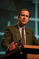 april 13 1994 File Photo - Daniel Johnson at Quebec Liberal Party convention