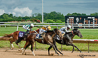 Presidential Colors winning at Delaware Park on 7/13/13