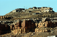 The Hopi Mesa have long offered protection from raiders and nosy outsiders. Today HOPI wants to.build an outside economy, they need tourists, but.want to guard against any further erosion of their culture.