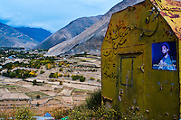 Following the 1979 Soviet invasion and occupation of Afghanistan, Massoud devised a strategic plan for expelling the invaders and overthrowing the communist regime. <br /> His home valley, Panjshir, served as a stronghold from which he would carry asymmetric warfare. To this day, remnants of destroyed military vehicles dot the valley.