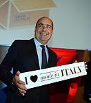 NICOLA ZINGARETTI AL TEMPO DI ADRIANO - MANIFESTAZIONE  PER  PROMOZIONE DEL  MADE IN ITALY  ROMA 2013