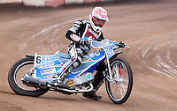 Ashley Birks of Lakeside Hammers - Lakeside Hammers Press & Practice Day at the Arena Essex Raceway, Pufleet - 20/03/15 - MANDATORY CREDIT: Rob Newell/TGSPHOTO - Self billing applies where appropriate - 0845 094 6026 - contact@tgsphoto.co.uk - NO UNPAID USE