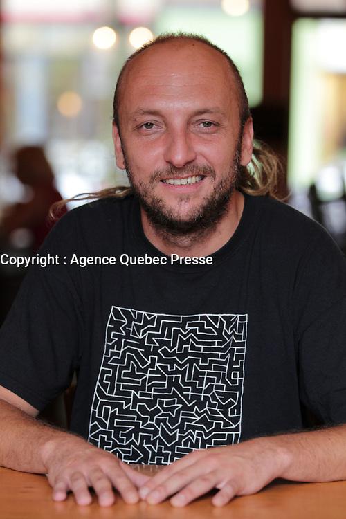 Portrait exclusif du chanteur Bernard Adamus<br /> Montreal, Canada,Sept 2015<br /> <br /> PHOTO :  Agence Quebec Presse