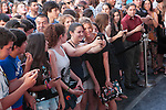 Manuela Velasco poses at `Marsella´ film premiere photocall at Capital cinema in Madrid, Spain. July 17, 2014. (ALTERPHOTOS/Victor Blanco)