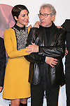 "Barbara Lennie and Jose Sacristan attend the Premiere of the movie ""MAGICAL GIRL"" at Callao Cinemas in Madrid, Spain. October 16, 2014. (ALTERPHOTOS/Carlos Dafonte)"