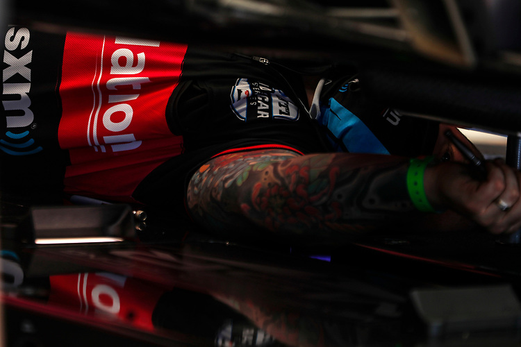 #60: Jack Harvey, Meyer Shank Racing Honda paddock