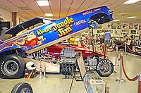 Auto display Don Garlits Museum of Drag Racing Ocala Florida