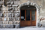 Exterior, Pizzeria del Caf Restaurant, Florence, Tuscany, Italy