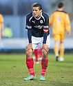 Falkirk's Lyle Taylor looks distraught after a miserable week.