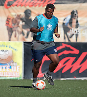 Assistant Coach Gerson Echeverry training before the 2009 CONCACAF Under-17 Championship From April 21-May 2 in Tijuana, Mexico