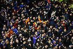 06.02.2019:Aberdeen v Rangers: Rangers fans at full time