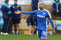 Jordan Graham of Gillingham during Gillingham vs Oxford United, Sky Bet EFL League 1 Football at the MEMS Priestfield Stadium on 10th October 2020