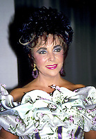 Elizabeth Taylor 1980s<br /> Photo by Adam Scull/PHOTOlink