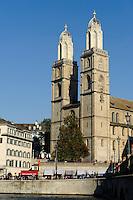Großmünster, Zürich, Schweiz