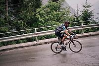 Sander Armée (BEL/Lotto-Soudal) up the Passo di Sant'Antonio<br /> <br /> stage 15: Tolmezzo – Sappada (176 km)<br /> 101th Giro d'Italia 2018