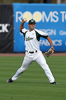 """University of South Florida Jimmy Falla #39 during a game vs. the Miami Hurricanes in the """"Florida Four"""" at George M. Steinbrenner Field in Tampa, Florida;  March 1, 2011.  USF defeated Miami 4-2.  Photo By Mike Janes/Four Seam Images"""