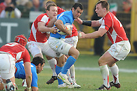 Gonzalo Canale (Italia)<br /> Italia vs Galles<br /> RBS 6 Nations Rugby Championship 2011<br /> Stadio Flaminio;<br /> Roma, 26/02/2011<br /> Photo Antonietta Baldassarre Insidefoto