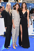 "Sasha Luss, Aymeline Valade and Pauline Hoarau<br /> at the ""Valerian"" European premiere, Cineworld Empire Leicester Square, London. <br /> <br /> <br /> ©Ash Knotek  D3290  24/07/2017"