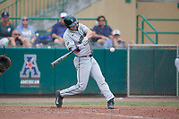 Dartmouth Big Green shortstop Nate Ostmo (5) at bat during a game against the USF Bulls on March 17, 2019 at USF Baseball Stadium in Tampa, Florida.  USF defeated Dartmouth 4-1.  (Mike Janes/Four Seam Images)