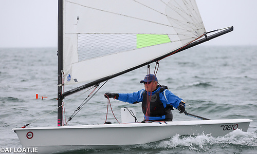 Robin Gray IRO was the winner of the masters prize sailing smartly to stay out of trouble and the right way up!