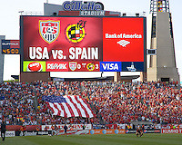 USA Men vs Spain June 04 2011