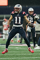 FOXBOROUGH, MA - OCTOBER 27: New England Patriots Wide Receiver Julian Edelman #11 during a game between Cleveland Browns and New Enlgand Patriots at Gillettes on October 27, 2019 in Foxborough, Massachusetts.