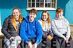 North Kerry Harriers Hunt: Taking part in the North Kerry Harrier's hunt in Asdee on Sunday last were Aideen O'carroll, Jack Courtney, Clodagh Fitzgerald & Hamish O'Carroll.
