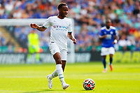 11th September 2021; King Power Stadium, Leicester, Leicestershire, England;  Premier League Football, Leicester City versus Manchester City; Raheem Sterling of Manchester City