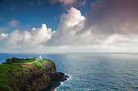 Kilauea Lighthouse. Kilauea Point National Wildlife Refuge, Kauai, Hawaii.