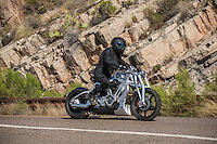"""On location of the movie """"Transformers 5 The Last Knight"""" , E7, being filmed near Theodore Roosevelt Dam in Arizona. The film has just started filming and further filming will take place in locations like Detroit, Ireland, Great Britan and Iceland. <br /> <br /> ©Fredrik Naumann/Felix Features"""