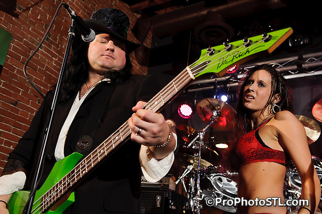 Masters of Hair Metal in concert at Heartbreakers Rock-N-Roll Saloon in St. Louis, MO on May 6, 2011.