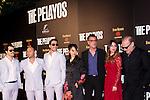 "24.04.2012. Cocktail-presentation of the movie ""The Pelayos"" in Madrid Fortuny. In the picture: Vicente Romero, Oriol Vila, Miguel Ángel Silvestre,  Huichi Chiu, Eduard Cortés, Blanca Suárez and Lluis Homar (Alterphotos/ Marta Gonzalez)"
