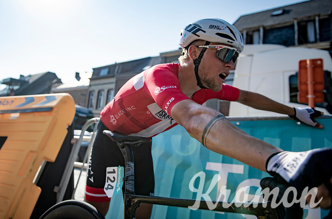Mads Würtz Schmidt (DEN/Israel Start-Up Nation) post-finish<br /> <br /> 17thBenelux Tour 2021 (2.UWT)<br /> (Final) Stage 7: from Namur to Geraardsbergen (178km)<br /> <br /> ©kramon