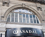 Exterior, Sign, Asadel Restaurant, Covent Garden, London, Great Britain, Europe