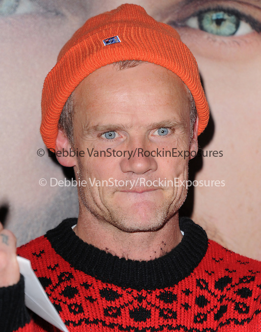 "LOS ANGELES, CA - December 12: Flea arrives at The Warner Bros' Pictures L.A. Premiere of ""her"" held at The DGA in West Hollywood, California on December 12,2013                                                                               © 2013 Hollywood Press Agency"