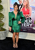 """LOS ANGELES, USA. June 11, 2019: Chrissie Fit at the premiere of """"Murder Mystery"""" at Regency Village Theatre, Westwood.<br /> Picture: Paul Smith/Featureflash"""