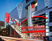 Newly named Scotiabank Theatre Toronto at the Corner of Richmond and John Streets. (CNW Group/Scotiabank)