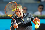 David Ferrer, Spain, during Madrid Open Tennis 2015 match.May, 7, 2015.(ALTERPHOTOS/Acero)