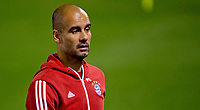 Munich's head coach Pep Guardiola in action during a training session in Doha, Qatar, 15 January 2015. Bayern Munich stays in Qatar until 17 January 2015 to prepare for the second half of the German Bundesliga season. Photo: Sven Hoppe/dpa