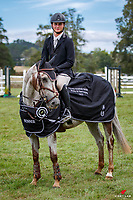 NZL-Rylee Sheehan rides Fun House. Final-1st. Class 25: Country TV Pony Grand Prix Sponsored by SPURS. 2021 NZL-Auckland Veterinary Centre Brookby SJ Grand Prix Show. Papatoetoe, Auckland. Sunday 14 February. Copyright Photo: Libby Law Photography