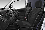 Front seat view of a 2013 - 2014 Renault Kangoo Express Maxi 5 Door Mini Mpv.