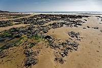 2020 04 21 The beach at Langland Bay near Swansea, Wales, UK