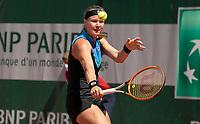Paris, France, 31-05-2021, Tennis, French Open, Roland Garros, First round match:  Kiki Bertens (NED)<br /> Photo: tennisimages.com