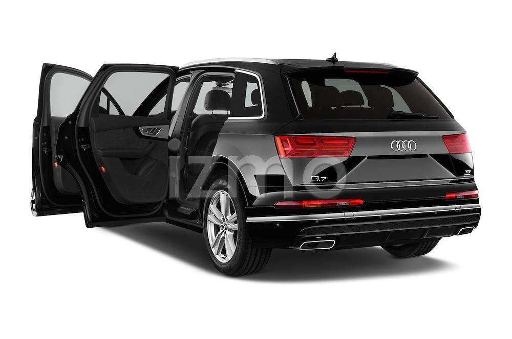 Car images of 2016 Audi Q7 S Line 5 Door Suv Doors