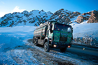 Afghanistan is largely covered by mountain ranges. The Salang pass, at more than 3000m, is the link between Kabul and the north of the country.